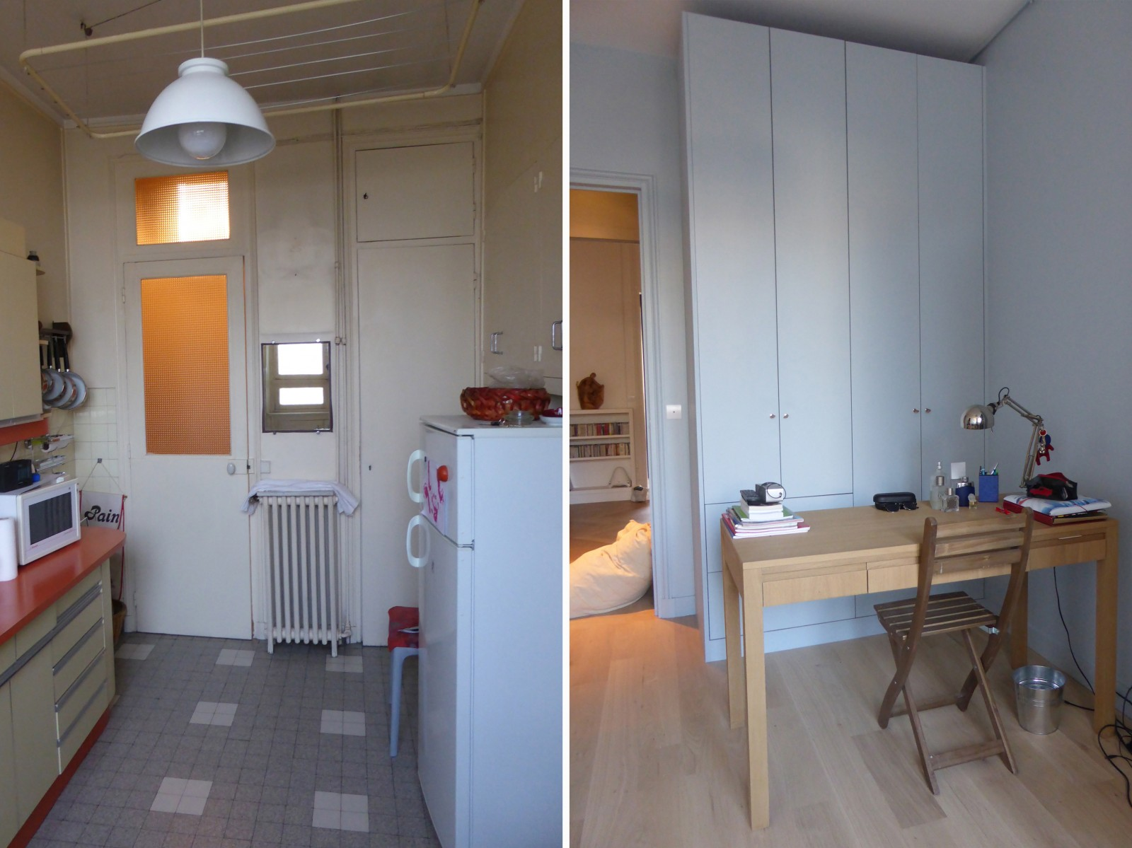 urban d co avant apr s. Black Bedroom Furniture Sets. Home Design Ideas